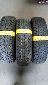 205 16 or 205 80 16 4X4  PART WORN TYRES FITTED AND BALANCED