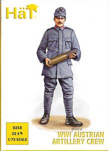 HäT/HaT WW1/World War One Austrian Artillery Crew - 1/72 Scale (25mm)