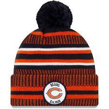 NEW Chicago Bears Beanie NFL New Era On Field 2019 Sport Knit Bobble Hat HOME