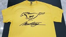 NEW MUSTANG T-SHIRT FORD SHELBY gt gt500 gt350 mach boss 3 e 1 convertible gt40@