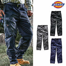 DICKIES WORK WEAR TROUSERS Redhawk SUPER ACTION CARGO COMBAT KNEE PADS WD884