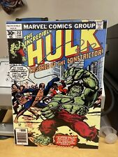More details for the incredible hulk comic cover printed on a4 metal flyer