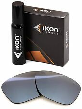 Polarized IKON Iridium Replacement Lenses For Oakley Forehand Silver Mirror