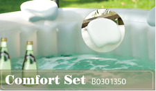 INFLATABLE SPA HOT TUB ACCESSORIES HEAD RESTS X 2 DRINKS HOLDER X1