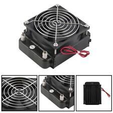 Aluminium 80mm Wasserkühlung gekühlter Reihen-Wärmetauscher Radiator+Fan für CPU