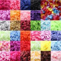 1000PCS Silk Rose Petals Wedding Party Decor Supplies wholesale /retai US