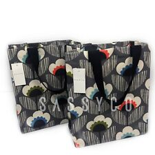 Orla Kiely 2 X Meadow Flower Shopping Bags Large & Small Reusable for Life