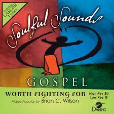 Brian C Wilson - Worth Fighting For - Accompaniment CD New