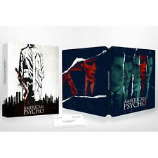 American Psycho - Zavvi Exclusive 4K Ultra Hd / Blu-Ray Steelbook Zone B! New!