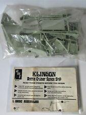 model Kit Star Trek KLINGON  Battle Cruiser  ( Space Ship ) AMT   Vintage 1966