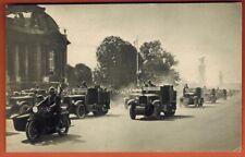 Carte postale guerre 1914 défilé de dragons portés -14 Juillet - G.19