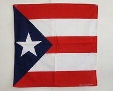 "22""x22"" Puerto Rico Rican Bandana Premium Polyester"