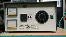 TRENNTRAFO und STELLTRAFO, Block BR2200, 0-250 Volt 8,8 Ampere