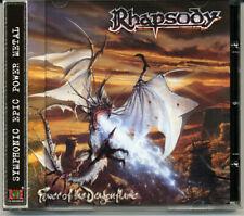 "Rhapsody ""Power Of The Dragonflame"" 2002, CD jewel case + OBI"