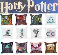 Harry Potter Cartoon Polyester Cushion Cover Sofa Throw Pillow Case Home Decor*