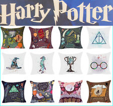 Cartoon Harry Potter Polyester Cushion Cover Sofa Throw Pillow Case Room Decor