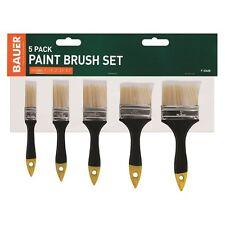 Paquet de 5 2.5cm - 7.6cm Ensemble pinceaux peinture home décoration Gloss