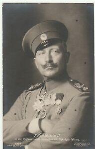 Portrait Kaiser Wilhelm II. in Russischer-Uniform Volle Ordenspracht Super