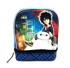 Big Hero 6 Disney Lunch Box Kindergarten Baby Insulated Cooler Bag Child Warmer