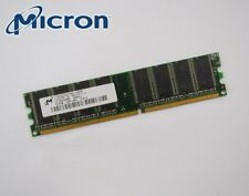 512MB Micron DDR1 DIMM Arbeitsspeicher RAM PC2700 MT8VDDT6464AG-335D8