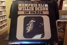 Memphis Slim and Willie Dixon In Paris Baby Please Come Home LP sealed vinyl RE