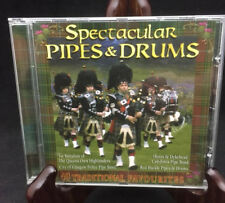 Spectacular Pipes & Drums CD - 40 traditional favorites from six bands