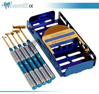 Soft Brushing Kit with Titanium Coated Dental Implant Instruments Surgery CE