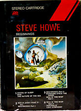 STEVE HOWE Beginnings (Yes) NEW SEALED 8 TRACK CARTRIDGE