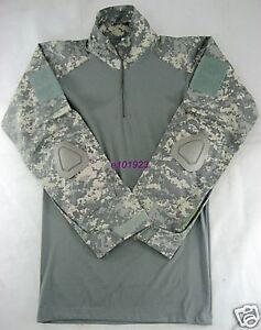 New Combat Shirt Digital ACU With Elbow Pad Medium