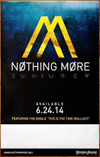 Nothing More S/T Ltd Ed Discontinued Rare New Poster +Free Rock Metal Poster!