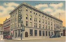 Union National Bank Mt. Carmel PA Postcard 1946