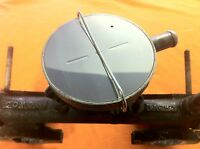 Breather Valve Top Cover & Clip STAINLESS STEEL- MGB GT