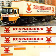MAN Rugenberger Allemagne (D) 1:87 camion autocollant Décalcomanie