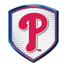 Philadelphia Phillies Reflector Auto Decal [NEW] MLB Car Emblem Shield CDG
