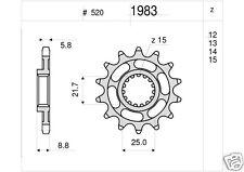 1983 Piñón acero KTM GS MX EXC 125 250 300 400 450 BETA RR DESDE 11 DIENTES