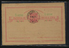 Timor  nice  early    postal  card   cancelled     DA1201