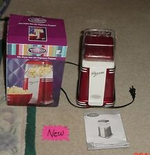 Nostalgia Electrics 50s Retro Series Hot Air Popcorn Popper Red RHP-310 NIB