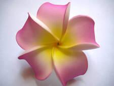 Hawaiian Hawaii Bridal Wedding Favor Party Flower Plumeria QTY ( 2 )  Hair Clip