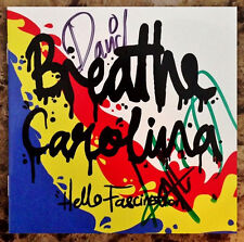 BREATHE CAROLINA Hello Fascination Ltd Ed RARE Signed CD Booklet +FREE Stickers!