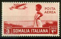 Somalia 1936 Sass. A24 Nuovo ** 100% soggetti africani