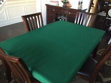FELT style Poker cover made in SUEDE - Fits rectangle Lifetime Folding Table