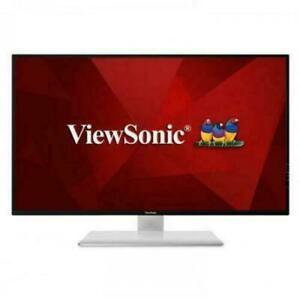 "ViewSonic VX4380-4K 43"" Frameless Widescreen IPS 4K UHD 2160p Monitor, HDMI, USB"