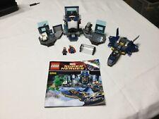 Lego Marvel Hulk's Helicarrier Breakout Set 6868 incomplete missing Loki & Hulk