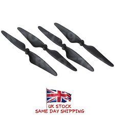 4X Negro Hubsan X4 Brushless FPV H501S Propulsores Hojas H501S-05B H501S-06B UK