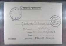 Camp Oflag IID Grossborn 1943 POW Prisoner of War Kriegsgefangenenpost (L2)