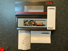 "Marklin spur z scale/gauge. D & RG ""Mogul"" Steam Locomotive & Tender. Rare."