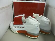 AIR JORDAN XVII Original White Varsity Red Charcoal DF 302720 161 size 10 W/CASE