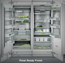 """Nib Gaggenau 60"""" Fully Integrated Pr Refrigerator & Freezer Rf471701 / Rc472701"""