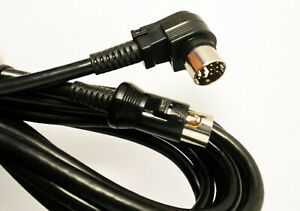 GITTLER D13 CABLE SYNTH/MIDI GUITAR BASS AMP 13 PIN DIN ROLAND READY 12 FT