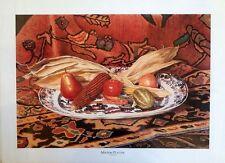 "Tim Stevenson ""Minton Platter""  LTD ED fine art print, S/N 86/950 Still life"